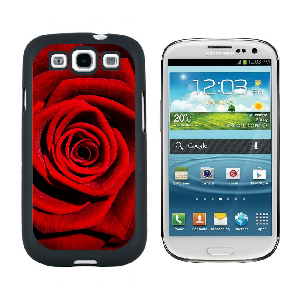Red Rose Galaxy S3 Case