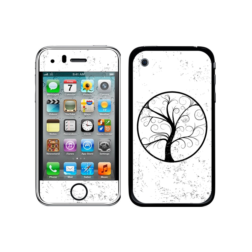Tree Of Life - Distressed iPhone 3G/3GS Skin