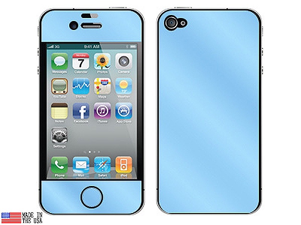 Shades of Blue iPhone 4 Skin