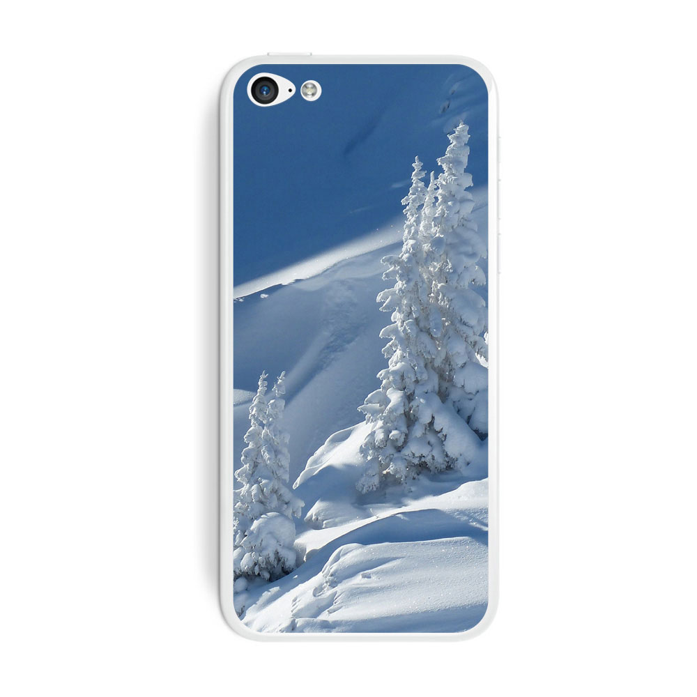 Snow Covered Mountain Slope - Snowboarding Skiing iPhone 5C Skin