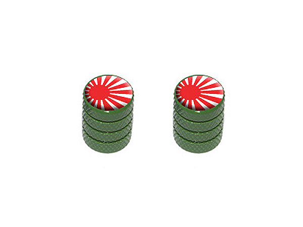 Japanese Flag - Rising Sun Motorcycle Bike Valve Stem Caps ...