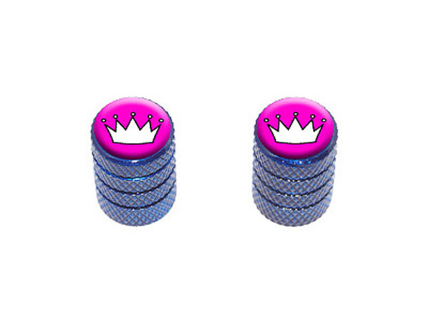 Princess Crown Tiara Tire Valve Stem Caps Motorcycle