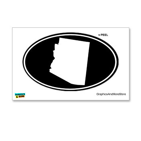Arizona Euro Oval Sticker