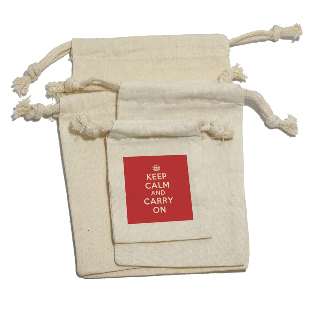 Keep-Calm-Carry-On-Red-Birthday-Girl-Muslin-Cotton-Gift-Party-Favor-Bags